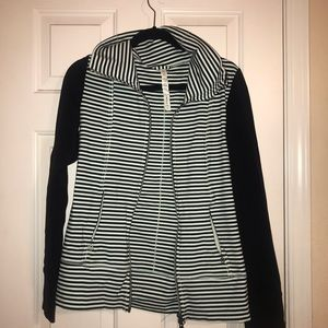 lululemon striped jacket size 8